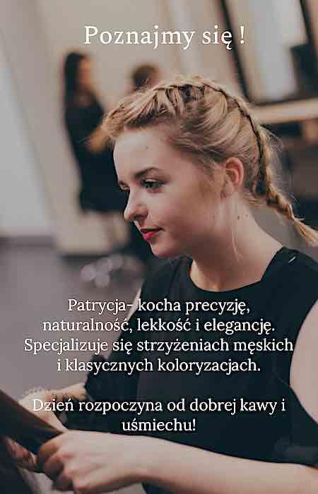 Patrycja - fryzjer damski Katowice